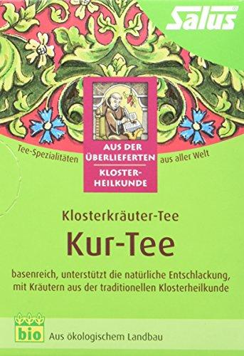 Salus Kur Tee Klosterkräuter-Tee, 3er Pack (3 x 30 g) - Bio