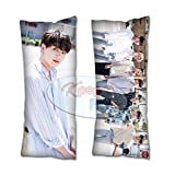 Cosplay-FTW Kpop Kpop BTS in LA 2019 Jungkook Body Pillow Peach Skin Cotton Polyester Blend 40cm x 100cm (Set of 1, CASE ONLY)