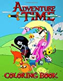 Adventure Time Coloring Book: Jake, Join Finn, and the rest of your favorite friends and explore the...