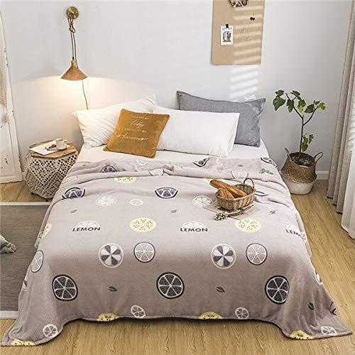 RONGXIE Neue Einfache Dünne Decken Mode Dünne Quilt Twin Voll Königin Jungen Decken Werfen Flanelldecke Auf Bett/Auto/Sofa Blau Teppiche Hause Camping Bettwäsche