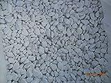Granisud Ciottoli Bianchi Marmo Carrara, Misura 15/25 mm Set da 6 Sacchi da 25 kg, Decorazione...
