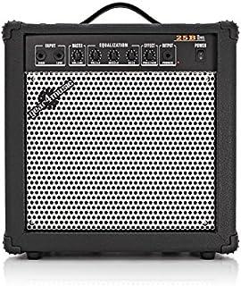 Amplificador de Bajo Electrico de 25 W de Gear4music