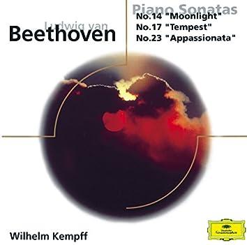 ベートーヴェン:ピアノ・ソナタ第14番《月光》/第17番《テンペスト》/第23番《熱情》