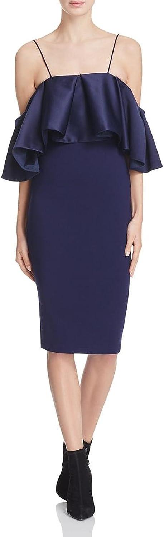 Elliatt Womens OffTheShoulder Ruffled Cocktail Dress