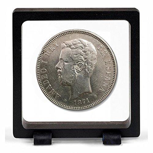 IMPACTO COLECCIONABLES Monedas Antiguas - España 5 Pesetas de Plata d