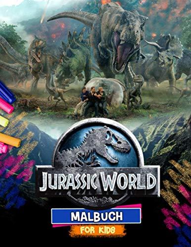 Jurassic World Malbuch: Jurassic World Aktion Malbuch: Inoffizielle Bilder Mit Der Schrecklichsten Farbe