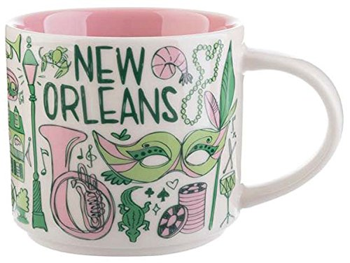Starbucks New Orleans Ceramic Coffee Mug Been There Series Cup