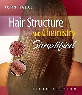 ساختار مو و شیمی ساده شده است