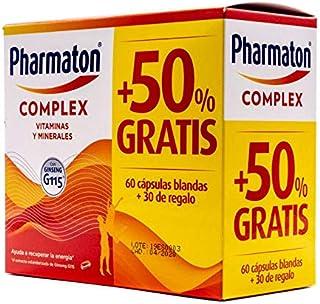 SANOFI PHARMATON COMPLEX CON GINSEN PACK 60 CAPSULAS 50%