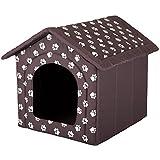 Hobbydog Casa para Perro, tamaño 2, Color marrón con Patas