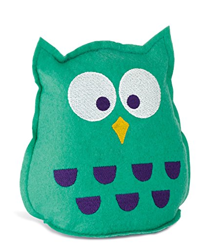 Find Discount WENKO 77760500 Esuedro Owl Highly Absorbent Reusable Plastic Polyester, 15 x 18 x 9 cm Turquoise