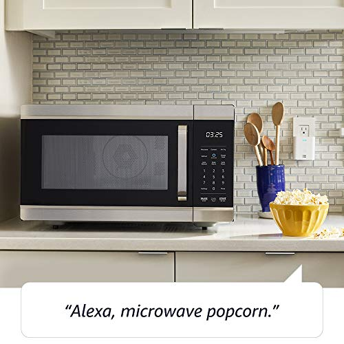 Product Image 1: Amazon Smart Oven, a Certified for Humans device – plus Echo Dot