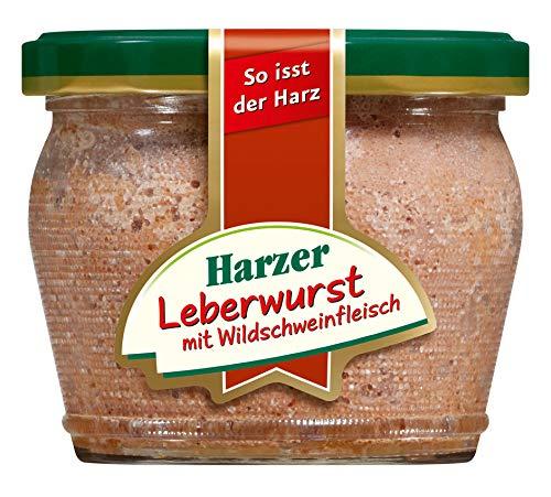 HARZER Leberwurst mit Wildschweinfleisch 1x200g