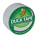 Duck Brand Colored Duct Tape, Dove Grey, 1.88 Inches x 20 Yards, Single Roll (285226)