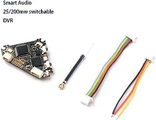 Happymodel Diamond FPV VTX 5.8g 25mw/200mw Video Transmitter w/DVR Smart Audio for CADDX EOS2 Runcam Nano 2 FPV Camera Mobula7 Eachine Trashcan Upgrade Micro Carbon Fiber FPV Racing Quad Drone Frame