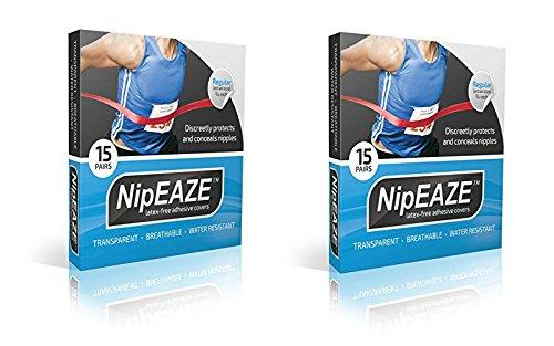 nipeaze Running NIP Guard Nippel Pad Displayschutzfolie, XX-Small
