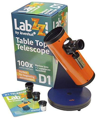 Levenhuk Telescopio LabZZ D1 para Niños