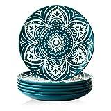 ZONESUM Dinner Plates - 10 Inches Dessert Plates,...