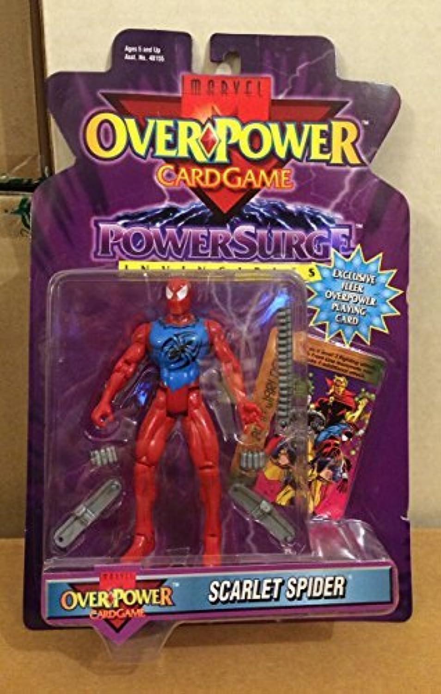 Marvel universe Over power SCARLET SPIDER spider-man toy biz by Spider-Man