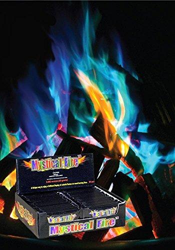 Flammenpulver coloré - 50 pièces motif mystical, fire motif flamme magique