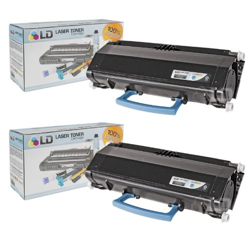 LD Compatible Dell 330-5207 (U903R) Set of 2 High Yield Black Toner Cartridges for Your Dell 3330dn Printers