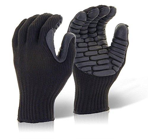 glovezilla Anti-Vibrationshandschuh schwarz, XL, schwarz, 1