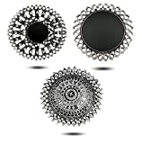 YouBella Jewellery Afghani Oxidised Silver Plated Combo of 3 Rings for Women