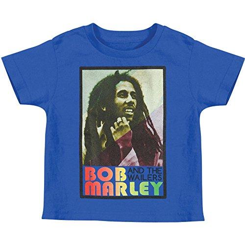 Bob Marley Little Boys' Rasta T-shirt 4T, Blue