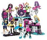 Monster High Mega Bloks Glam Ghoul Band Building Playset Childrens Toy 182 PCS