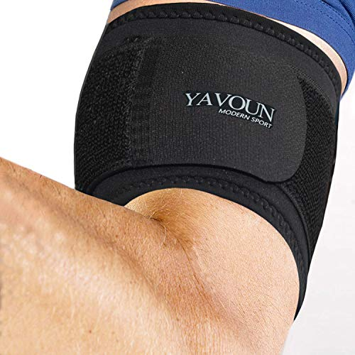 Bicep & Tricep Compression Sleeve/Wrap  Tricep Tendonitis Bicep Tendonitis  Pain Relief for Bicep and Tricep Muscle Strains Compression Arm Support fit 143183 inch bicep