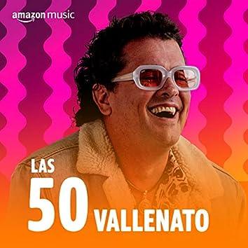 Las 50 Vallenato