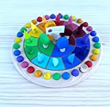 LUDIMAT Calendario Anual circular manipulativo Montessori Waldorf Artesanal