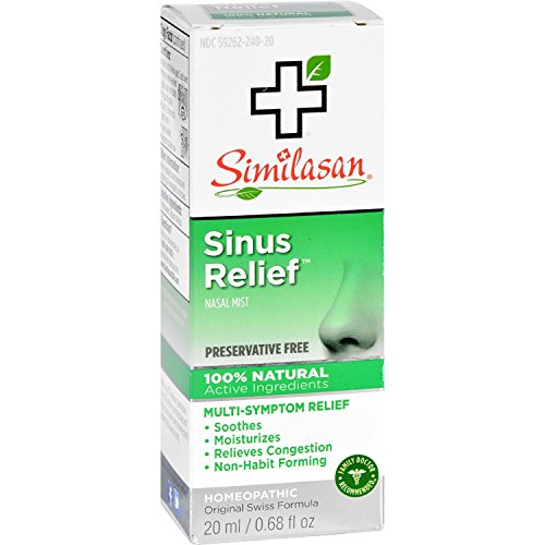 Similasan Sinus Relief Nasal Mist 0.68 oz (Pack of 8)