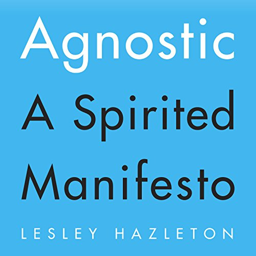 Agnostic audiobook cover art