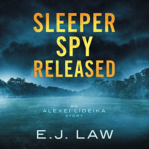 Sleeper Spy Released audiobook cover art