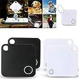 Buscador de artículos, SUNWAN GPS Bluetooth Key Finder Buscador de artículos, Localizador inalámbrico antipérdida para billetera Teléfono Mascotas