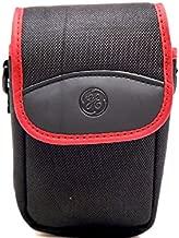 Original GE Case & Neck strap for Digital Cameras Models X400 X450 X500 X550 X600 AND X2600 (Burgundy red)