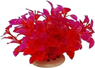 NaiCasy La decoración del Acuario de simulación Mar Rojo Flor jardín Ornamento Paisaje bajo el Agua