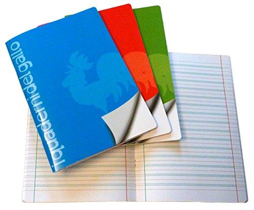 4 Quaderni Speciali per disgrafia e dislessia a righe di terza (B)