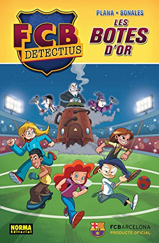 FCB DETECTIUS. LES BOTES D' OR (Comic Europeo (catalan))