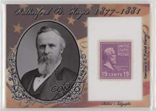 Rutherford B. Hayes #65/75 (Trading Card) 2018 Historic Autographs POTUS - Stamps #ST-RH