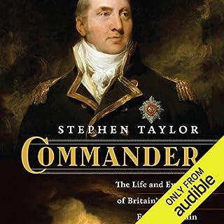 Commander audiobook cover art