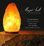 Lámpara de Sal del Himalaya - MAGIC SALT  Lighting For Your Soul -...