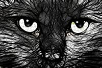 LHJOY ジグソー1000ピース猫の動物子供のための誕生日プレゼントとホリデーギフト 75x50cm