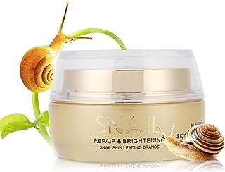 50g Snail Facial Cream Skin Repairing Whitening Moisturizing Anti-Wrinkle Repair Firming moisturizer för ansiktshud för al...