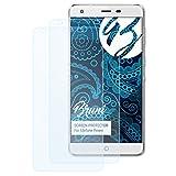 Bruni Schutzfolie kompatibel mit Ulefone Power Folie, glasklare Bildschirmschutzfolie (2X)