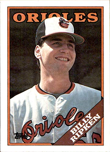 1988 Topps #352 Bill Ripken RC Billy ORIOLES ROOKIE MLB Baseball Trading Card (Sku7JLa)