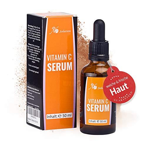 Vitamin C Serum 50 ml Für Ihr Gesicht Mit Hyaluronsäure Als Anti Aging Serum