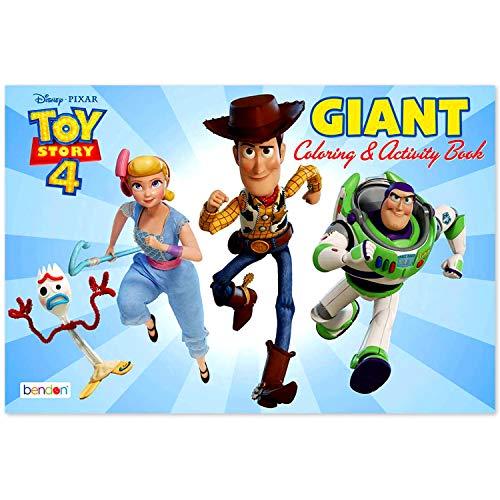 Paquete de libro para colorear de tamaño póster gigante para niños (Toy...