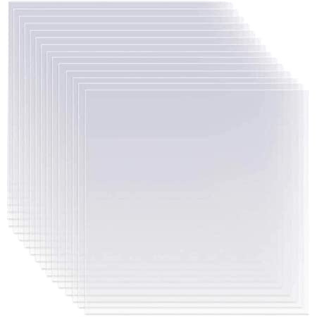 12 x 12 inch Square Blank Stencil Material for Making Your Own Stencils Blank Mylar Templates Jekkis 36 Pieces 6mil Blank Stencil Sheets